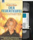 Firestarter (Der Feuerteufel) PAL VHS Holiday Movies  (#1)