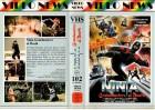 NINJA GRANDMASTER OF DEATH - VIDEO NEWS gr.Cover - VHS