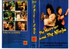 THE WARRIOR AND THE NINJA -  G.Marx gr.Cover - VHS