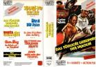 DAS TÖDLICHE GEHEIMNIS DER SHAOLIN - gr.Cover - VHS