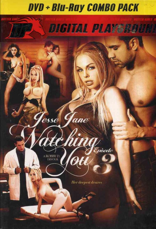 Watching You # 3 - DVD + Blu Ray Combo - Jesse Jane