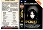 EXORZIST II - DER KETZER - WARNER VERLEIH DREIECK RAR - VHS