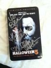 Halloween 5 Tin Box signiert Danielle Harris