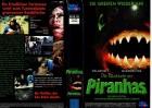 DIE RÜCKKEHR DER PIRANHAS - NEW VISION gr.Cover- VHS