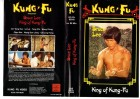BRUCE LEE King of Kung-Fu - KUNG-FU VIDEO gr.Cover- VHS