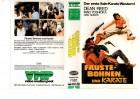 FÄUSTE BOHNEN UND KARATE - Iwao Yoshioka -VMP kl.Cover - VHS