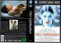 DER LIEBHABER-Jean-Jacgues Annaud- WARNER gr.Cover - VHS