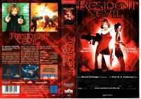 RESIDENT EVIL 1 - UNGEKÜRZT - UfA gr.Cover - VHS