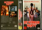 DIE HORROR PARTY - gr.Cover VERSCHWEISSTER BOX - VHS