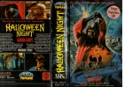 HALLOWEEN NIGHT - SATAN LEBT ! - CARRERA gr.Hartbox - VHS