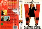 V.I.WARSHAWSKI  -  HOLYWOOD PICTURE gr.Cover - VHS