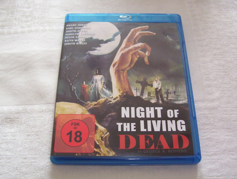 Nigth of the Living Dead  Bluray  96 min.