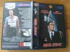 Red Zone Warner VHS Dolph Lundgren, Roy Scheider