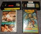 2 alte VHS Andy Warhol´s Frankenstein & Der Mönch