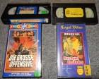 2 alte VHS Das Spiel des Todes & Die grosse Offensive