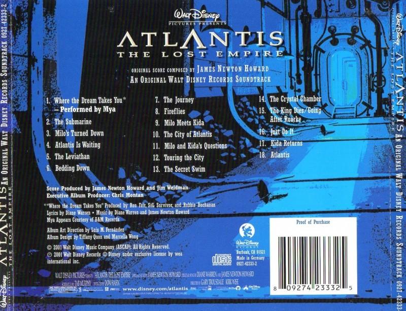 Atlantis - The Lost Empire // Soundtrack