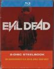 Evil Dead - Remake - Sam Raimi Uncut Blu-ray Steelbook - Neu