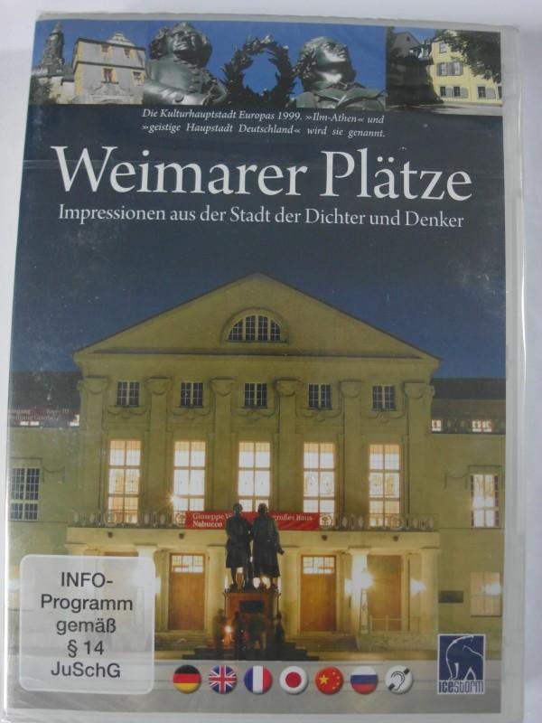 Weimarer Plätze - Impressionen - Dichter & Denker - Weimar