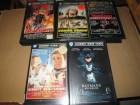 VHS - Sammlung - Warner - Cobra Verde - Wargames...