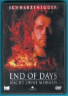 End of Days - Nacht ohne Morgen DVD Schwarzenegger s. g. Z.
