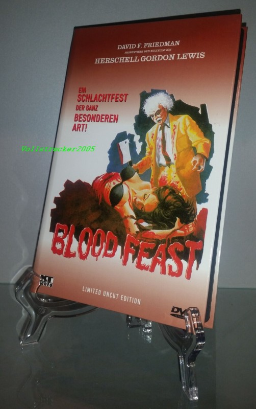 XT - BLOOD FEAST - Gr. Hartbox - RAR - UNCUT
