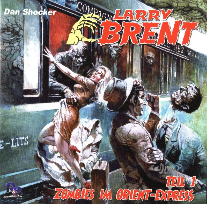 Larry Brent - Zombies im Orient Express 1