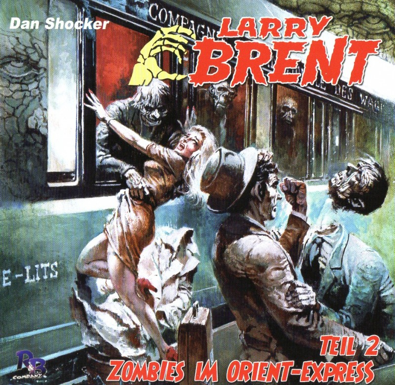 Larry Brent - Zombies im Orient Express 2