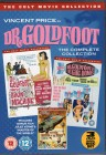 DR. GOLDFOOT Complete Collection Vincent Price 3x DVD Box