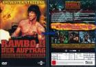 Rambo 2 Der Auftrag - Stallone (John Rambo)  - UNCUT - DVD
