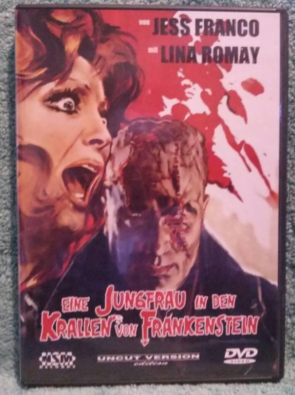 Eine Jungfrau in den Krallen von Frankenstein J. Franco (V)