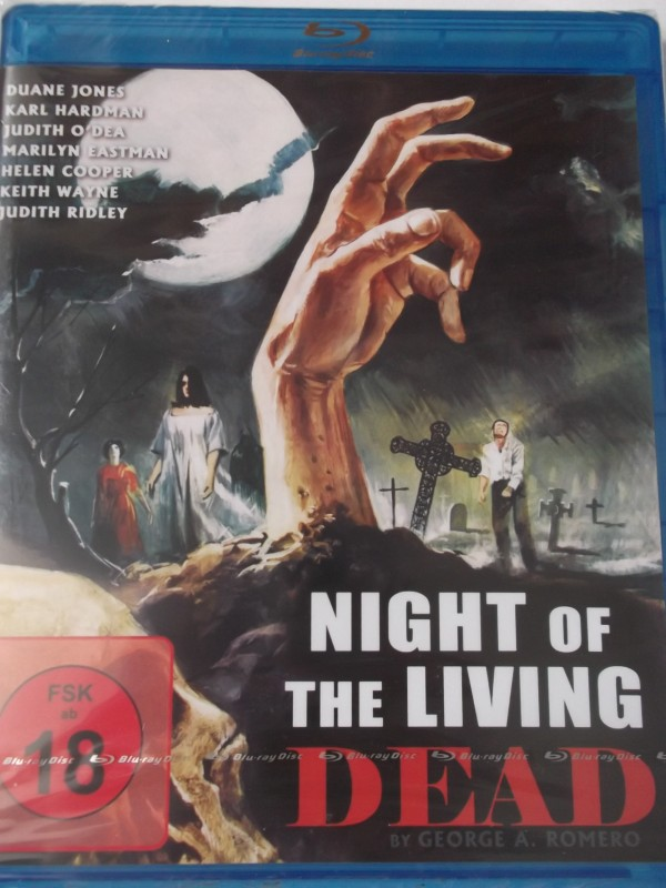 Night of the Living Dead - FSK 18 uncut - George A. Romero