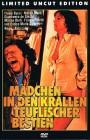 MÄDCHEN IN DEN KRALLEN TEUFLISCH. BESTIEN DVD gr.HARTBOX 666