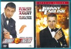 Johnny English 1 & 2 DVD Eizelkaufversionen s. g. Zustand