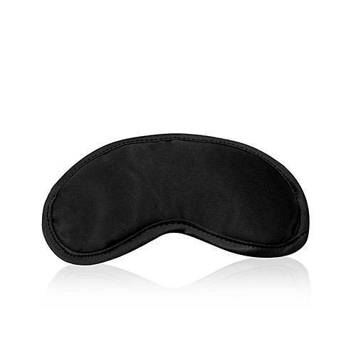 Augenmaske aus Satin - schwarz - NEU&OVP
