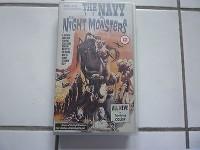 UK-VHS  NAVY VS. THE NIGHT MONSTERS Selten wie neu!!!!