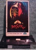 Der Berserker VHS Uncut Starlight video Fsk 18 (D33)