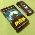 SPECTERS ...Mächte des Bösen VHS Donald Pleasence VPS