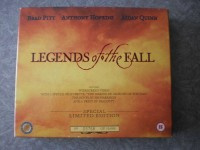 LEGENDS OF THE FALL UK-VHS-Limited Edition BOX Brad Pitt