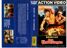 BRUCE LEE  DER UNBESIEGTE - ACTION VIDEOgr.Cover - VHS