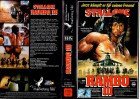 RAMBO 3 - marketing-film gr.Cover -VHS
