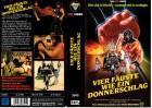 VIER FÄUSTE WIE EIN DONNERSCHLAG - VPS gr.Cover -VHS