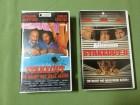 Stakeout 1 + 2 VHS Nacht hat viele Augen + Die Abservierer