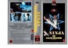 NINJA DIE KILLER-MASCHINE - RCA Silber kl.Cover-VHS