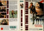 ONE TOUGH BASTARD - Brian Bosworth - VMP gr.Hartbox - VHS