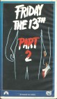 Friday the 13th Part 2 (VHS) UNCUT
