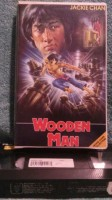 Wooden Man VHS Jackie Chan (A10)