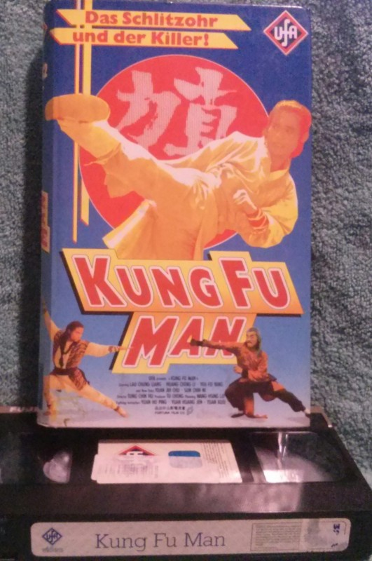 Kung Fu Man Ufavideo VHS FSK16 (A03)