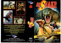 SSSNAKE -- Kung Fu in Perfektion - USA  gr.Cover - VHS