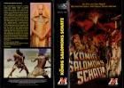 KÖNIG SALAMONS SCHATZ - MONTE gr.Cover Hartbox- VHS