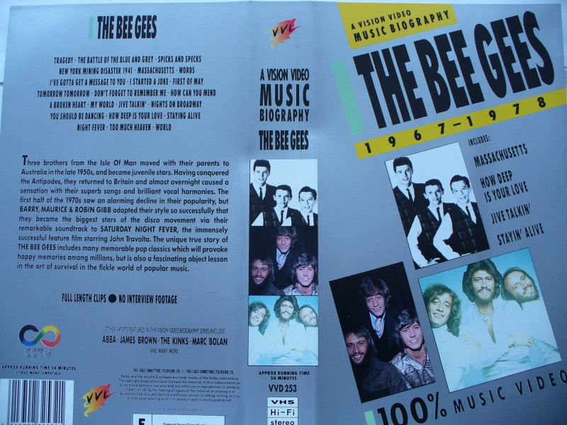 The Bee Gees 1967 - 1978  ...  engl. Version !!